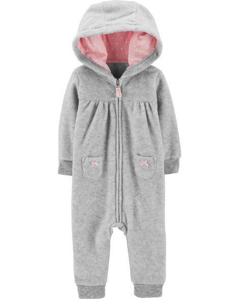945f4f8f5 Koala Hooded Fleece Jumpsuit