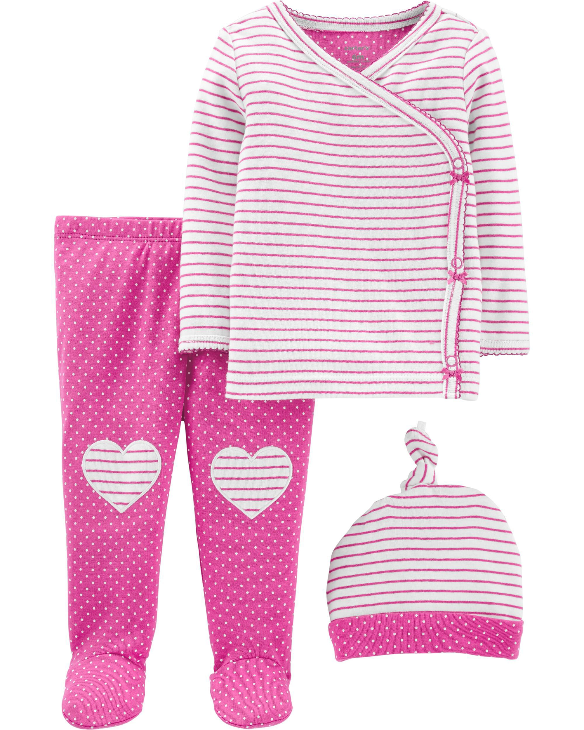 Asisol Baby Boys Girls Floral Outfits Set Long Sleeve Hoodie Striped Pants
