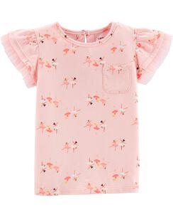 aaf0bd7b Baby Girl Shirts: Tops & T-Shirts | Carter's | Free Shipping