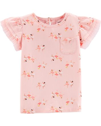 24bf4bde3d81f Baby Girl Tops | Carter's | Free Shipping