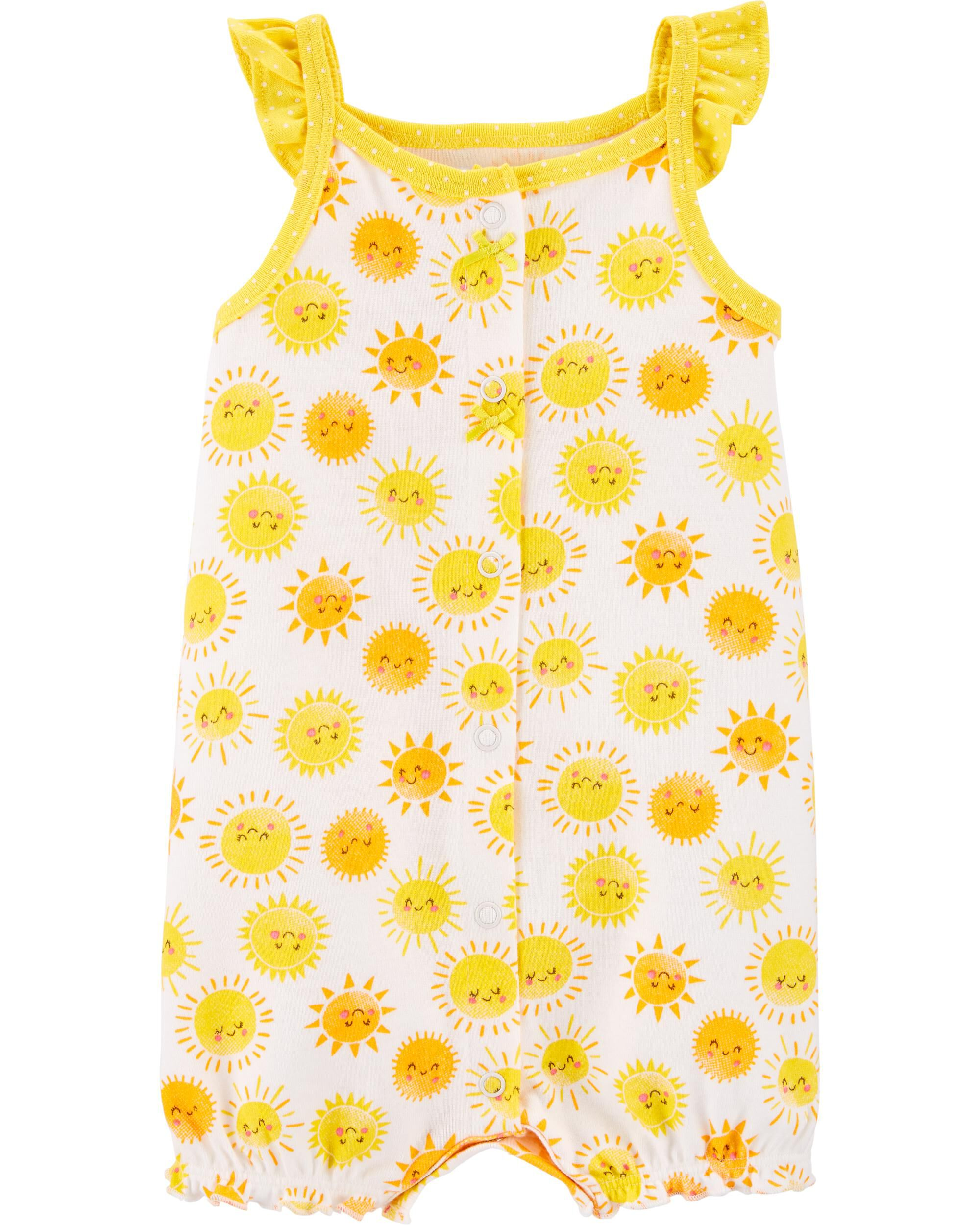 *CLEARANCE* Sunshine Snap-Up Romper