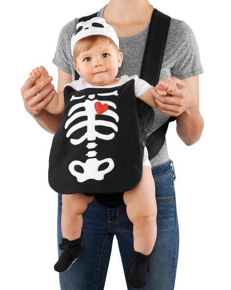 3555719f8 Little Skeleton Halloween Carrier Costume