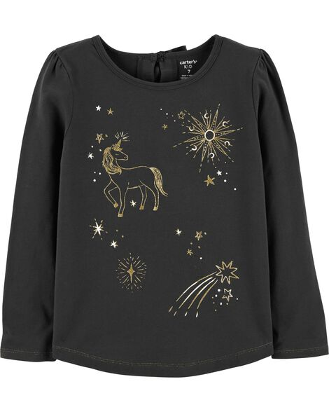 Unicorn Constellation Sparkle Tee