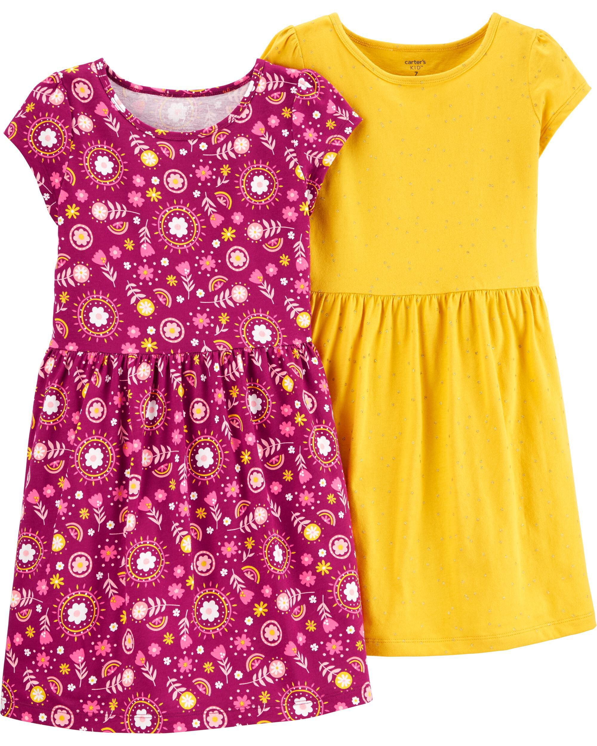 *CLEARANCE* 2-Pack Jersey Dresses