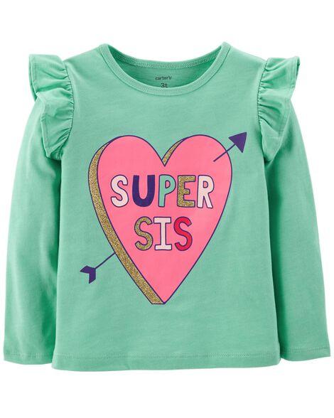 Super Sis Heart Flutter Tee