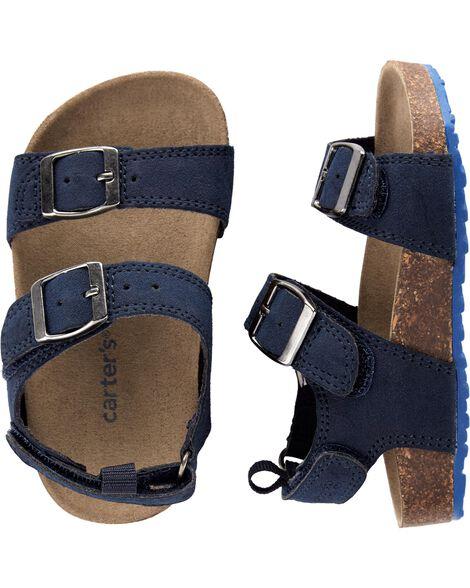 Carter's Buckle Cork Sandals