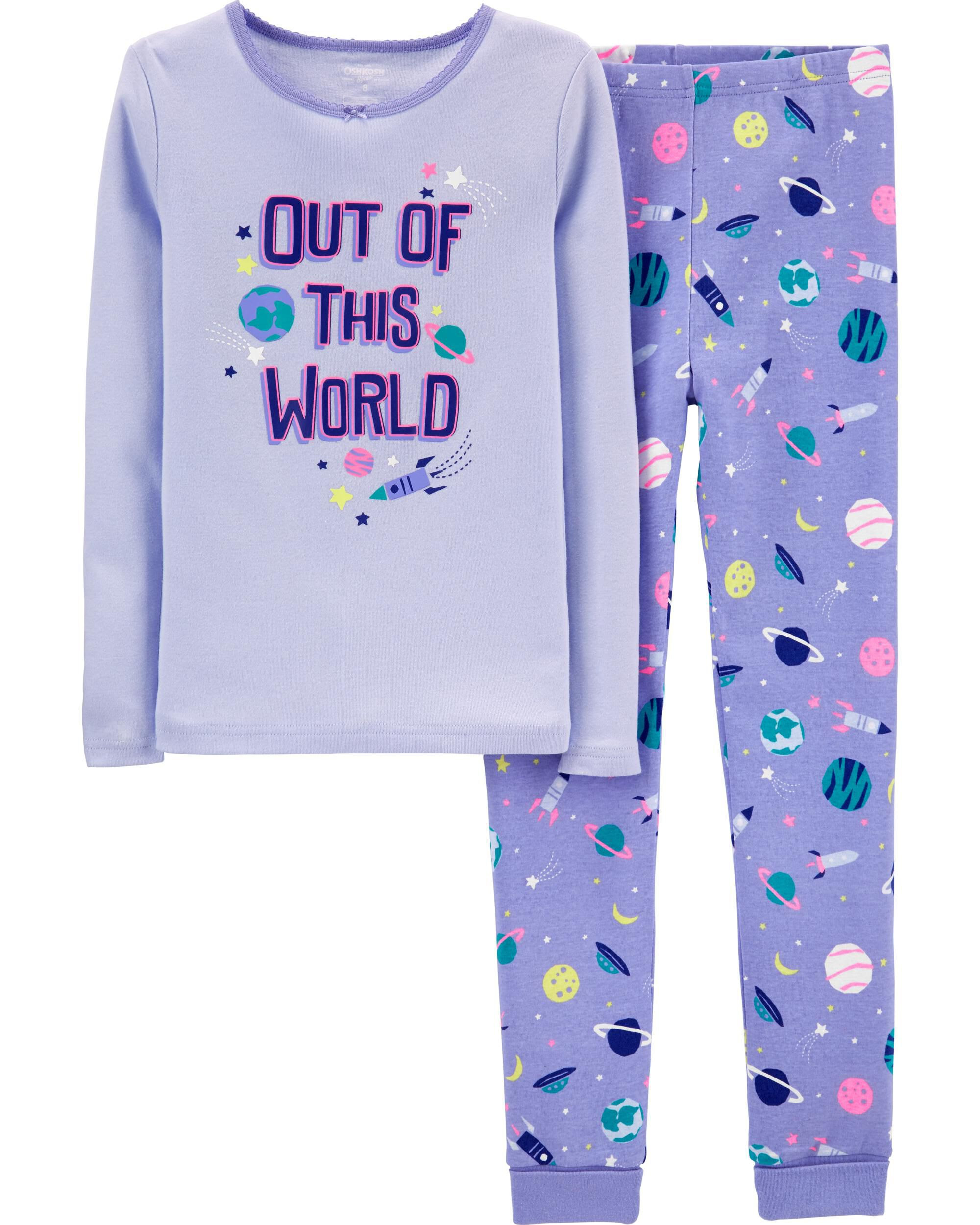 Snug Fit Out of This World Cotton PJs