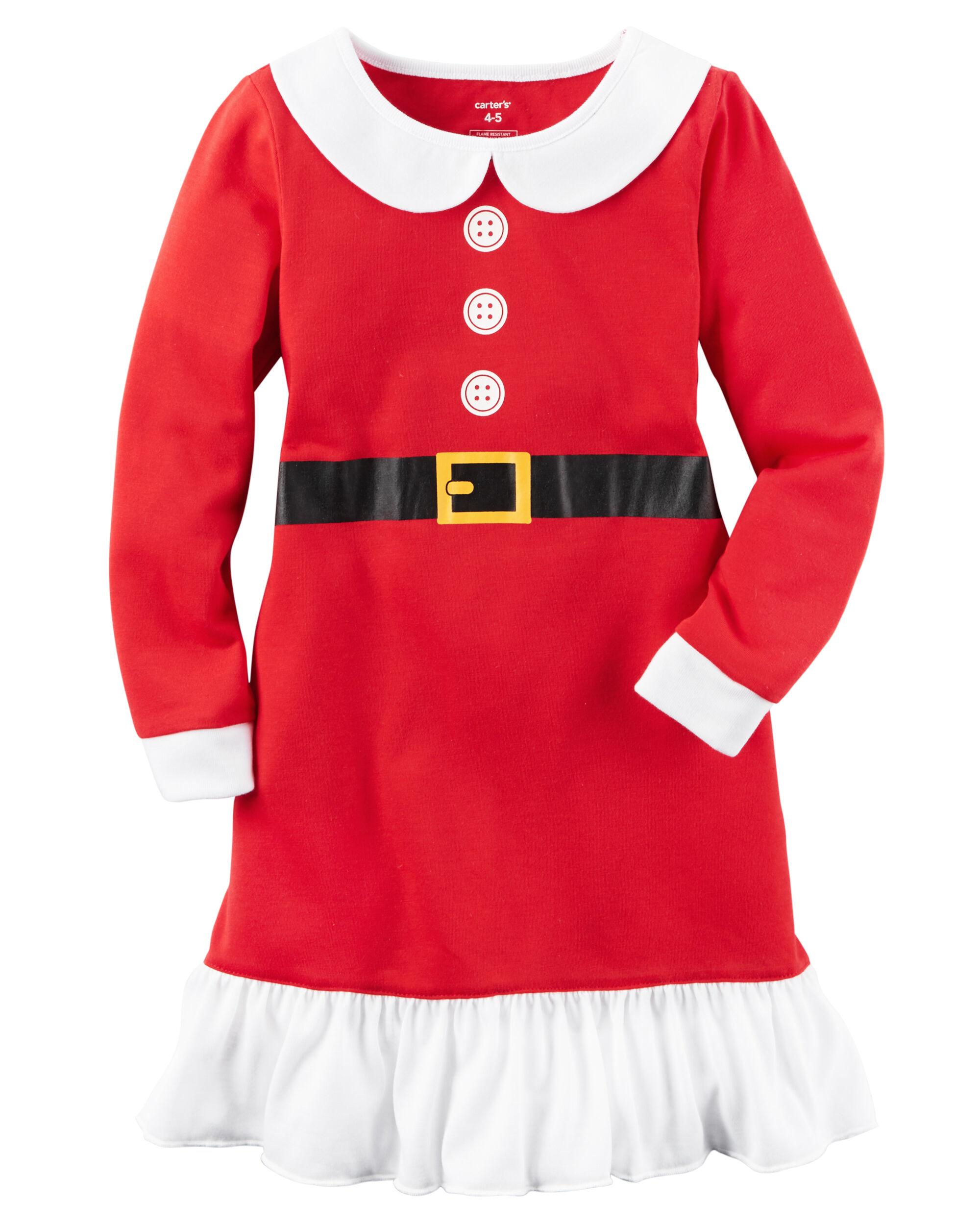 Santa Suit Sleep Gown Carters Com