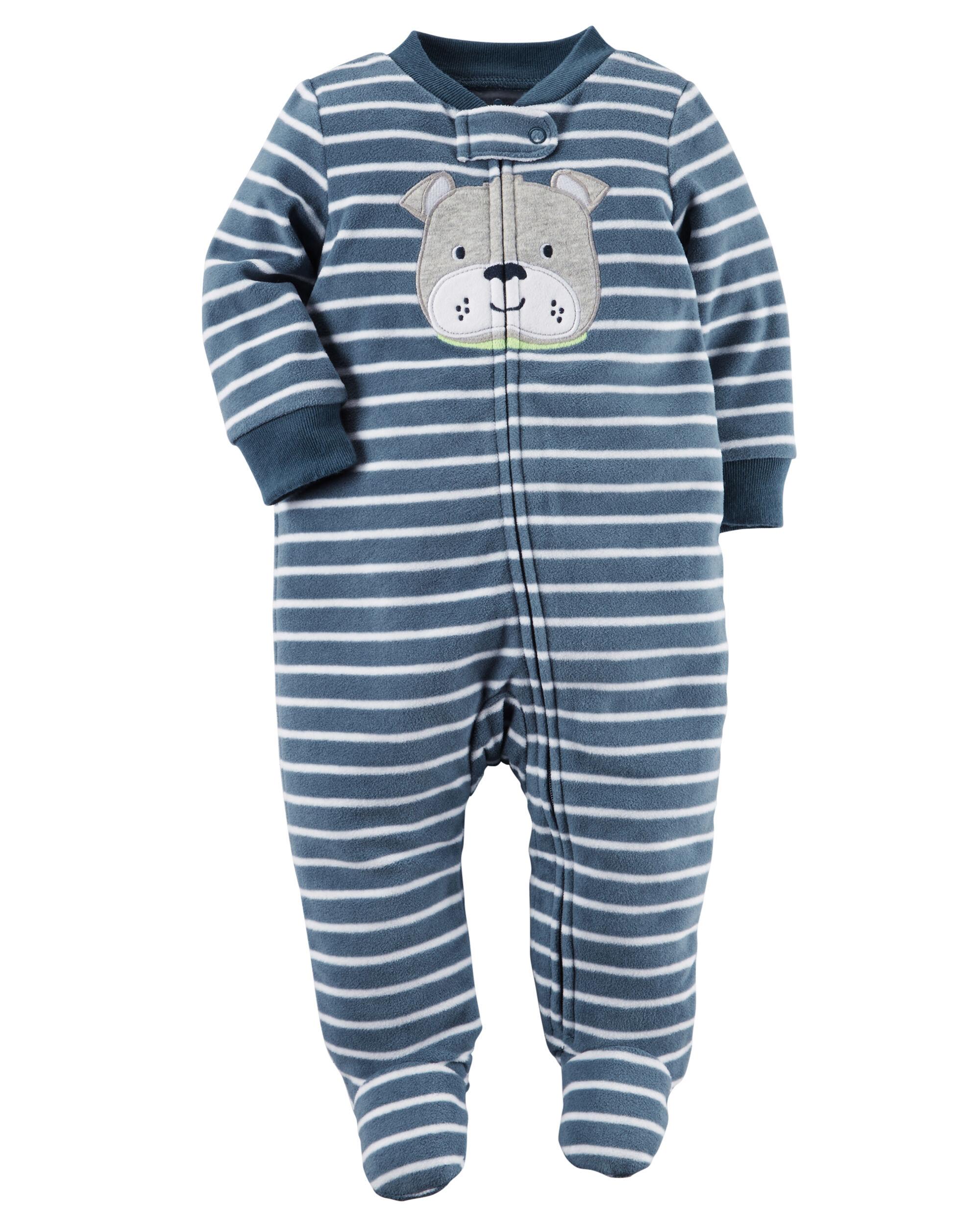 Fleece Zip Up Sleep & Play