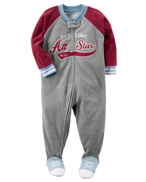 1-Piece All Star Fleece PJs