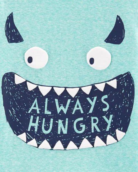 Always Hungry Snow Yarn Tee