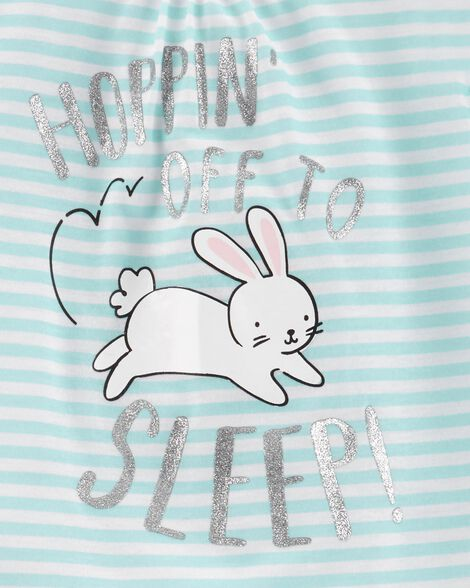 3-Piece Bunny Poly PJs