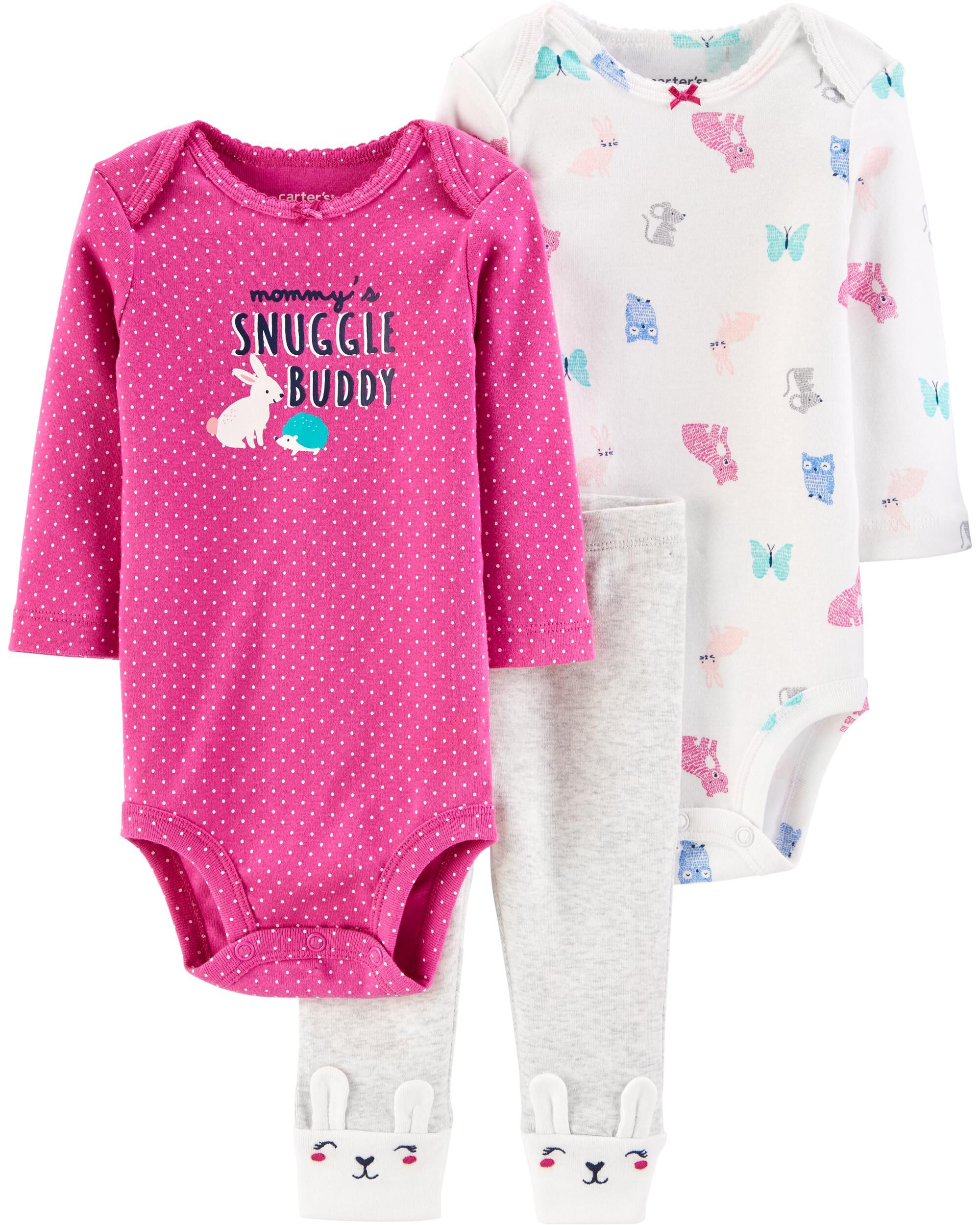*CLEARANCE* 3-Piece Bunny Little Character Set