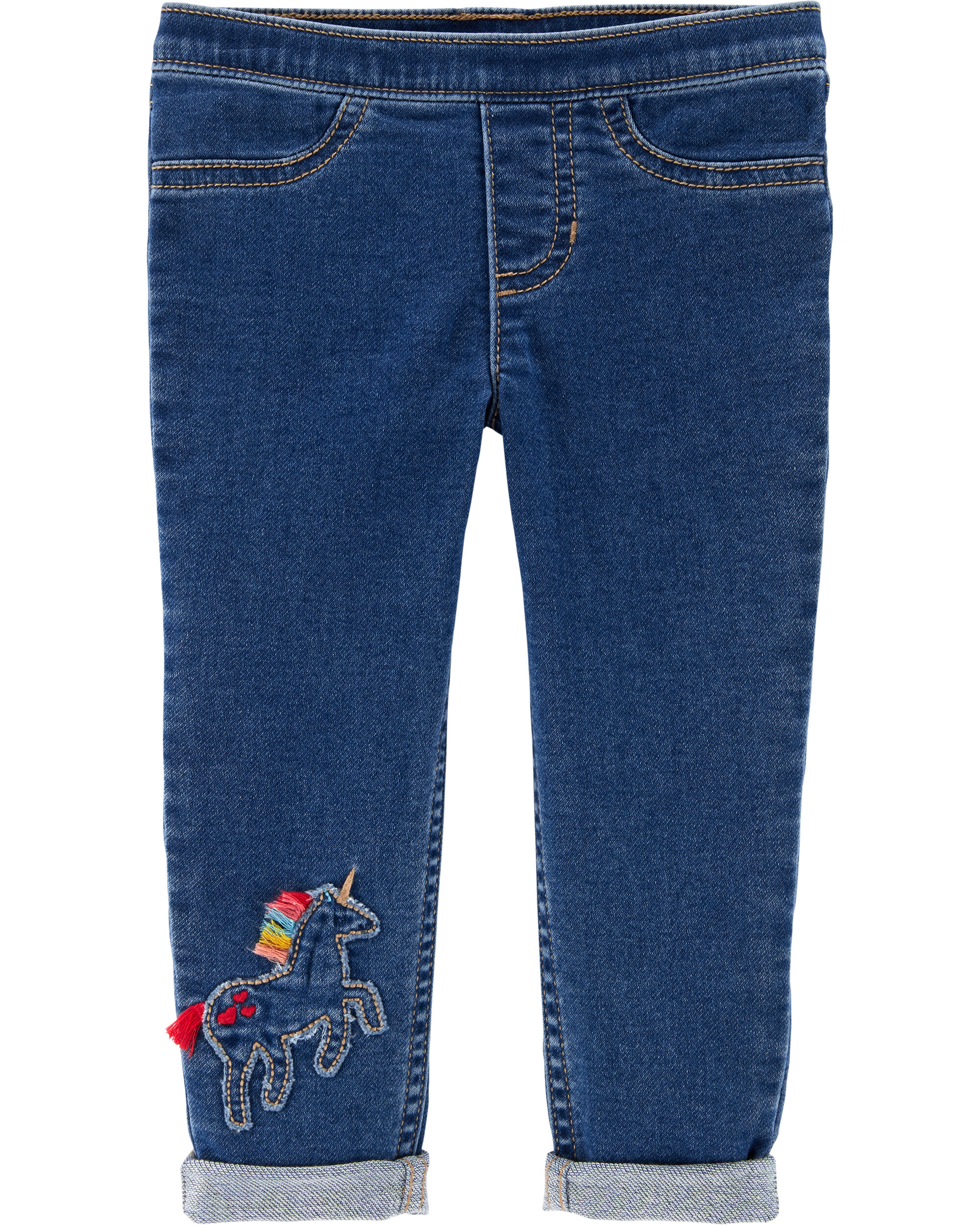 *CLEARANCE* Unicorn Pull-On Jeggings