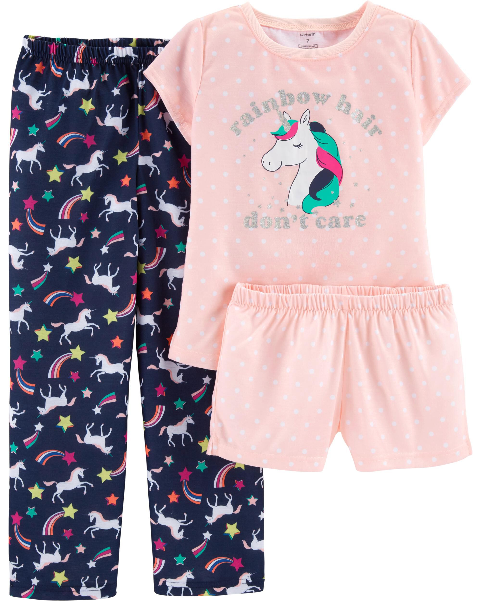 Girls' Clothing (newborn-5t) Carte's Girls Pajamas Mermaid Size 24 Months Online Discount