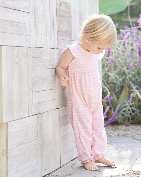 Certified Organic Striped Jumpsuit