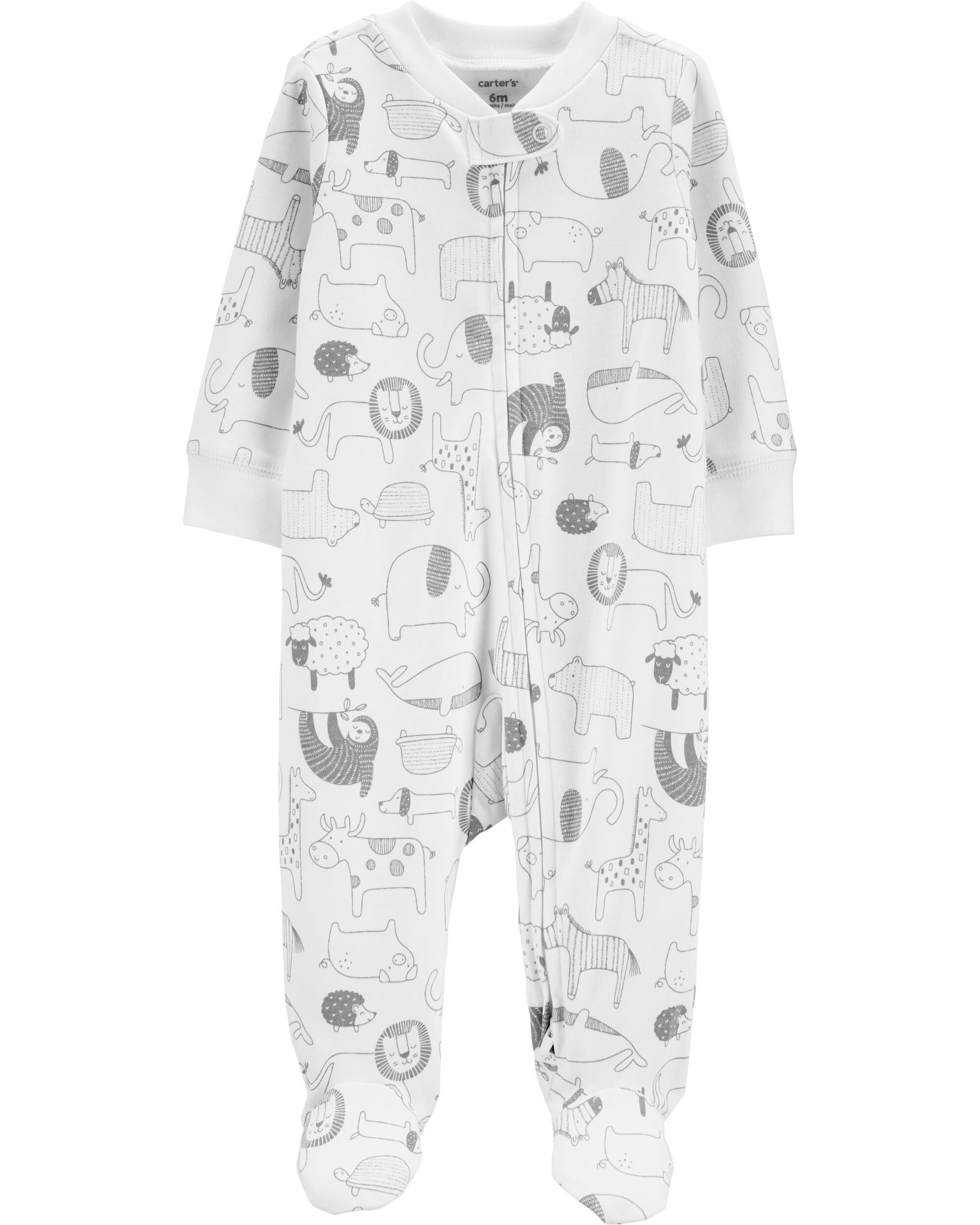 place one piece toddler cotton sleep n play zipper assorted colors//sizes