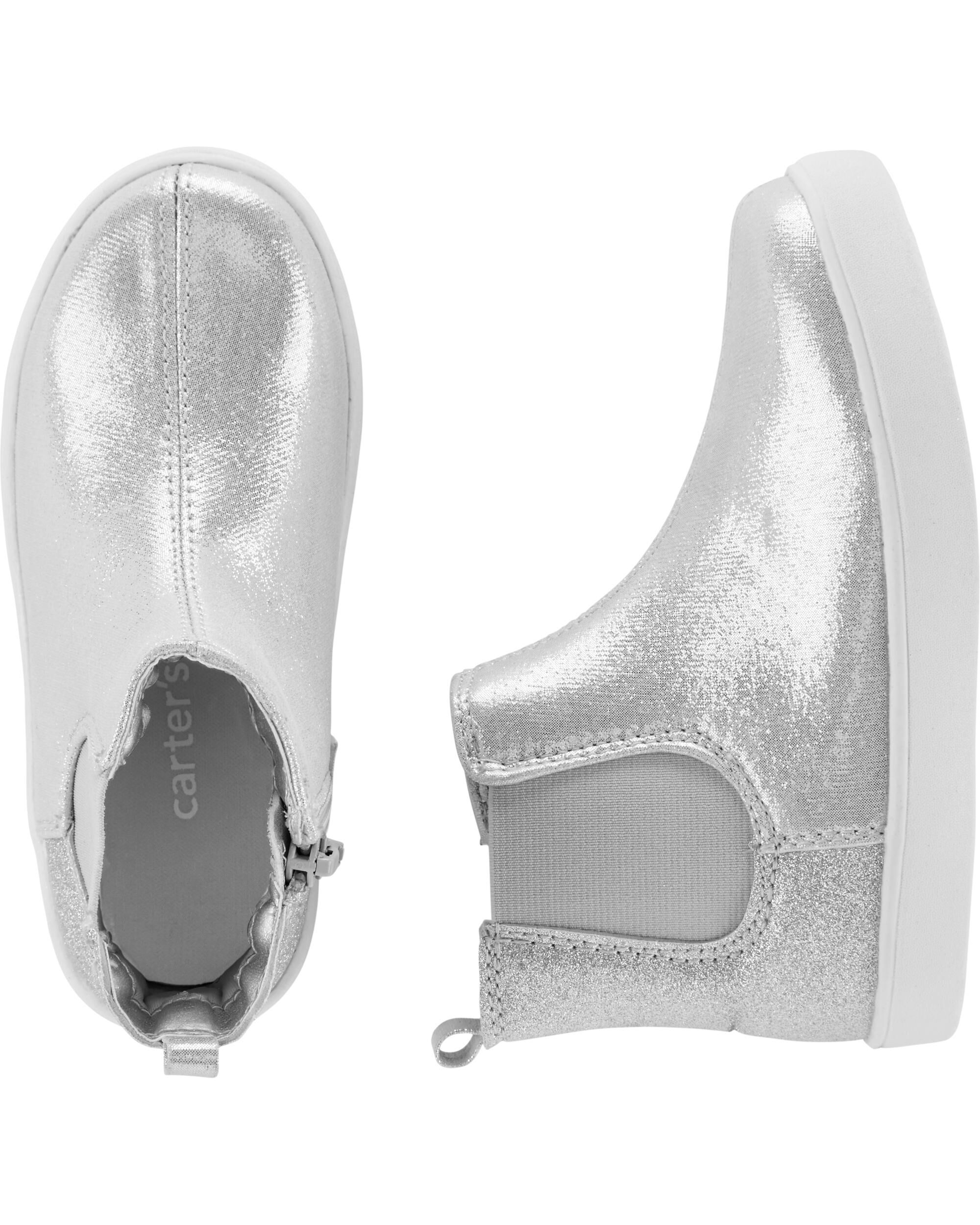 Glitter High Top Sneakers   carters