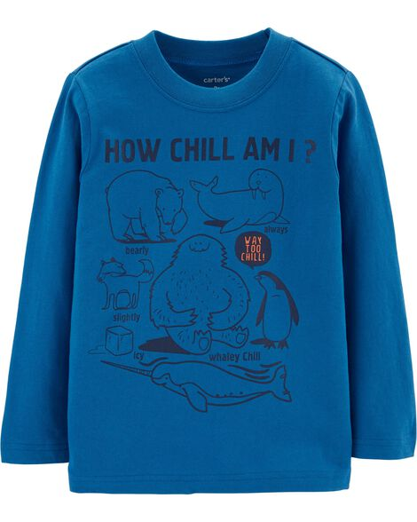 How Chill Am I Jersey Tee