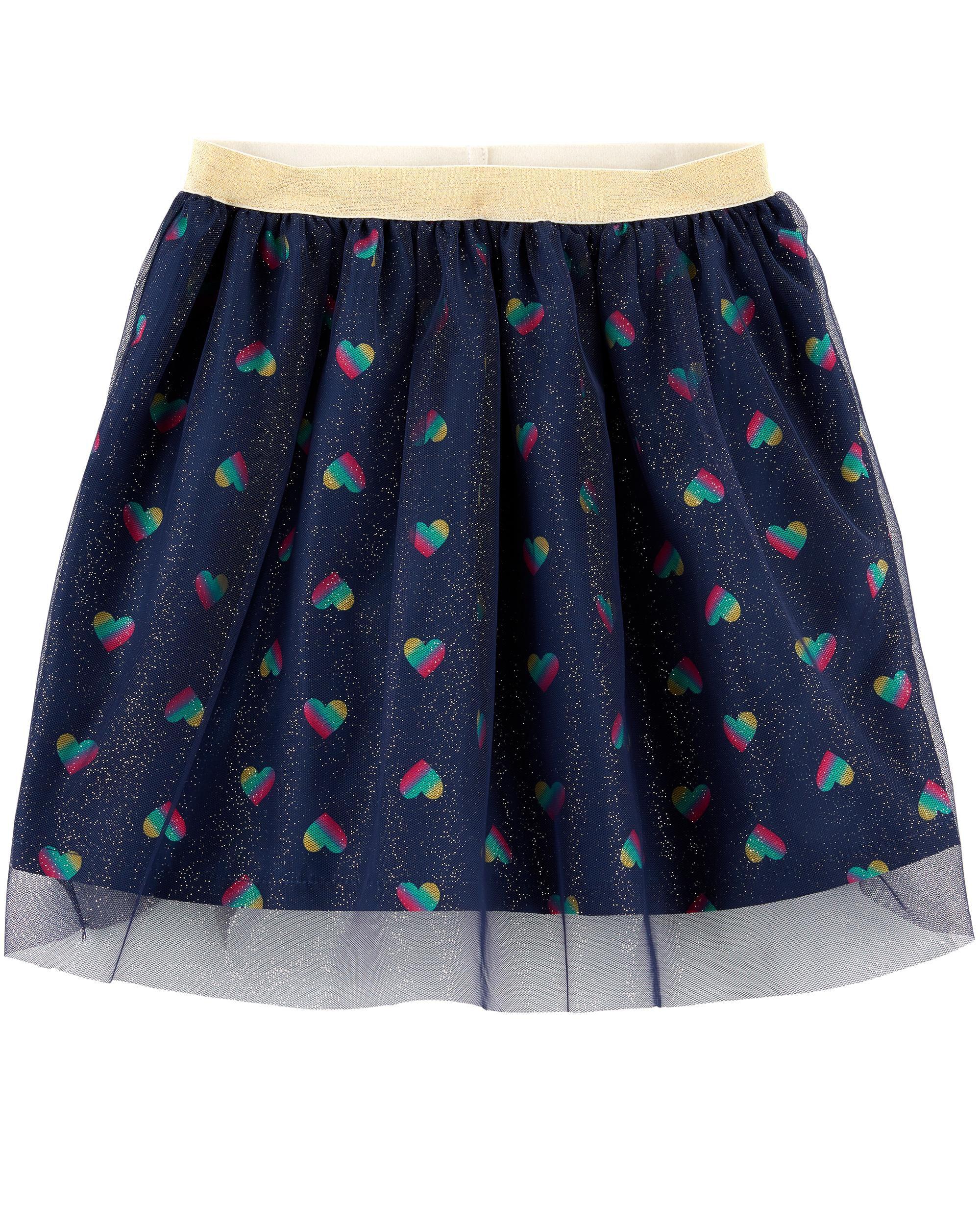 *CLEARANCE* Glitter Heart Tutu Skirt
