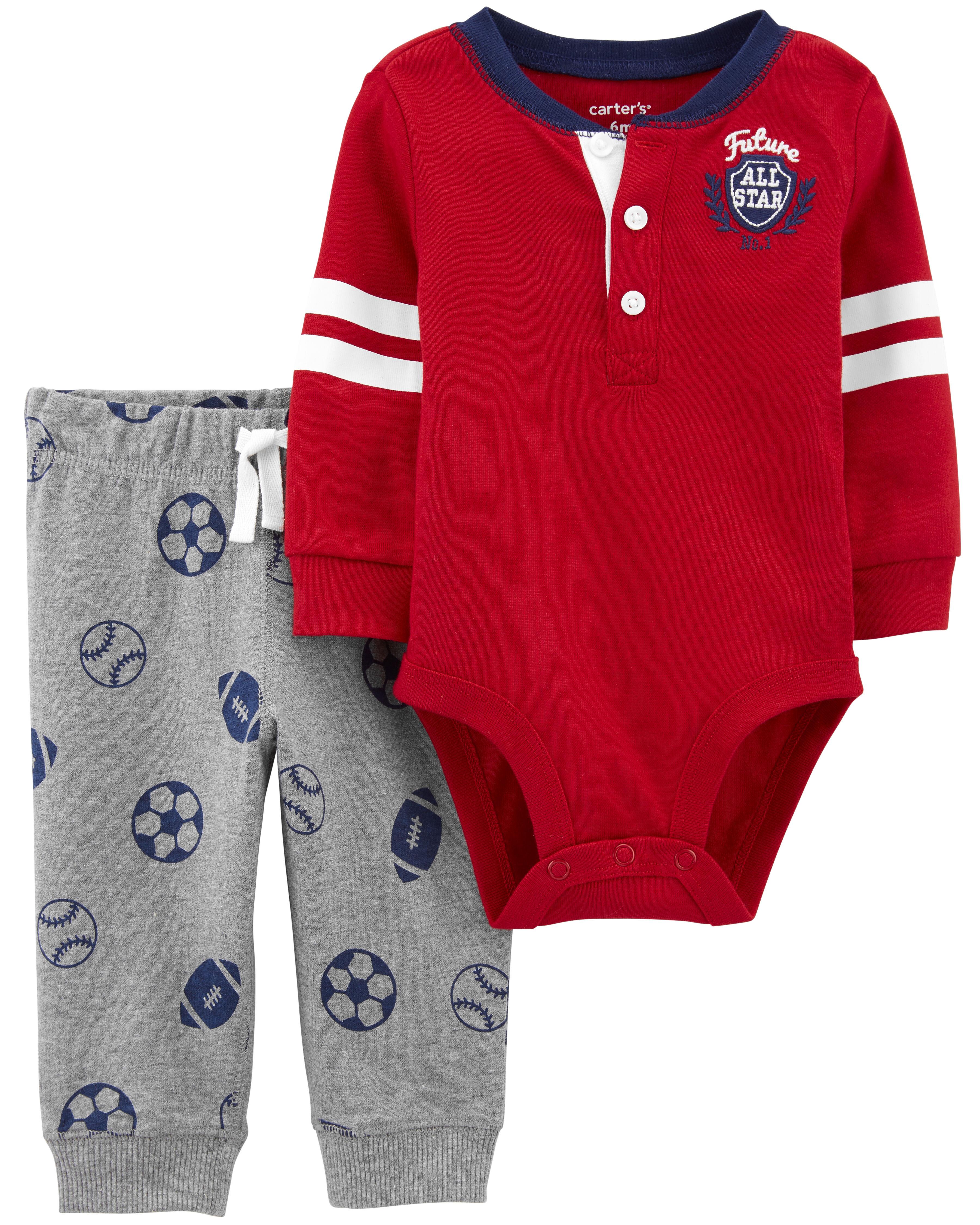 *DOORBUSTER* 2-Piece Soccer Bodysuit Pant Set
