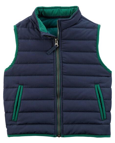 597cda18180a Zip-Up Puffer Vest
