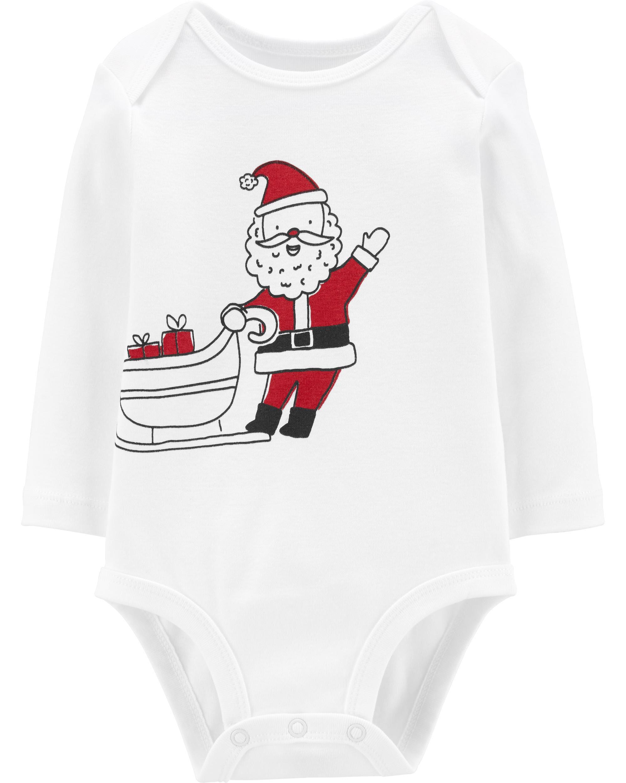 *CLEARANCE* Santa's Sleigh Collectible Bodysuit
