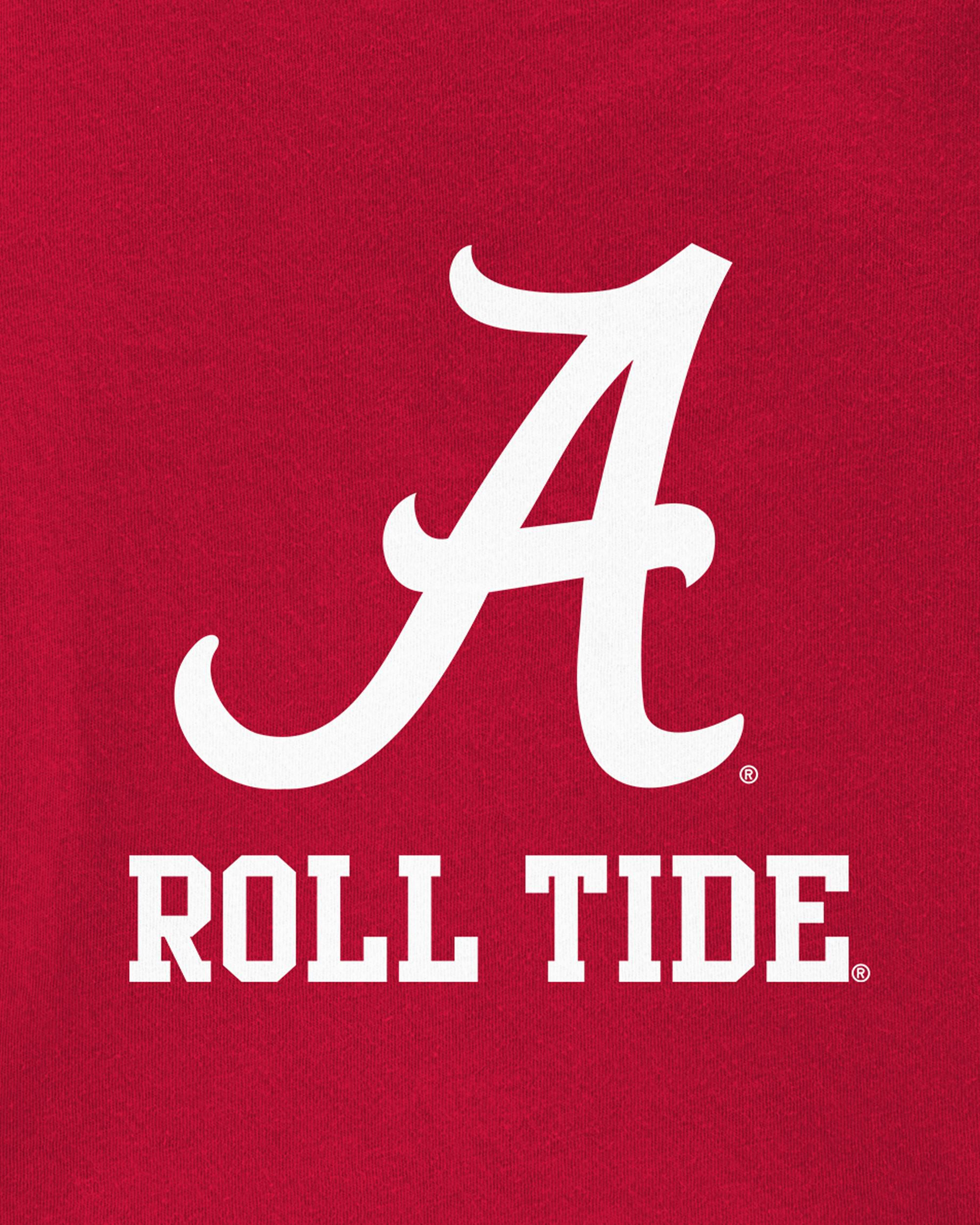 NCAA Licensed University of Alabama Crimson Tide Toddler Girl Dress 4T New