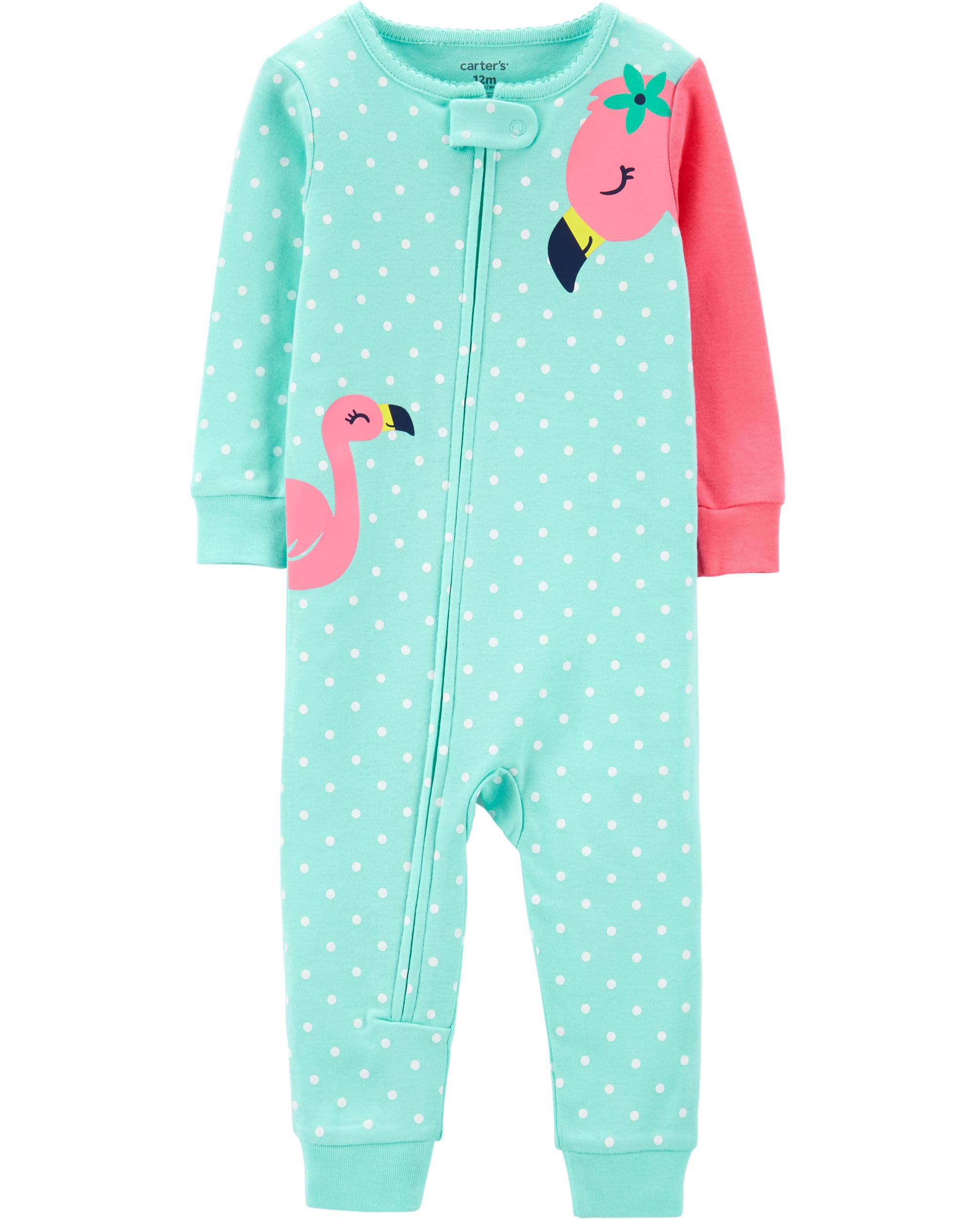 Carters Just One You Toddler Girl Panda Pajamas Sz 12 M Baby Clothing, Shoes & Accessories Sleepwear