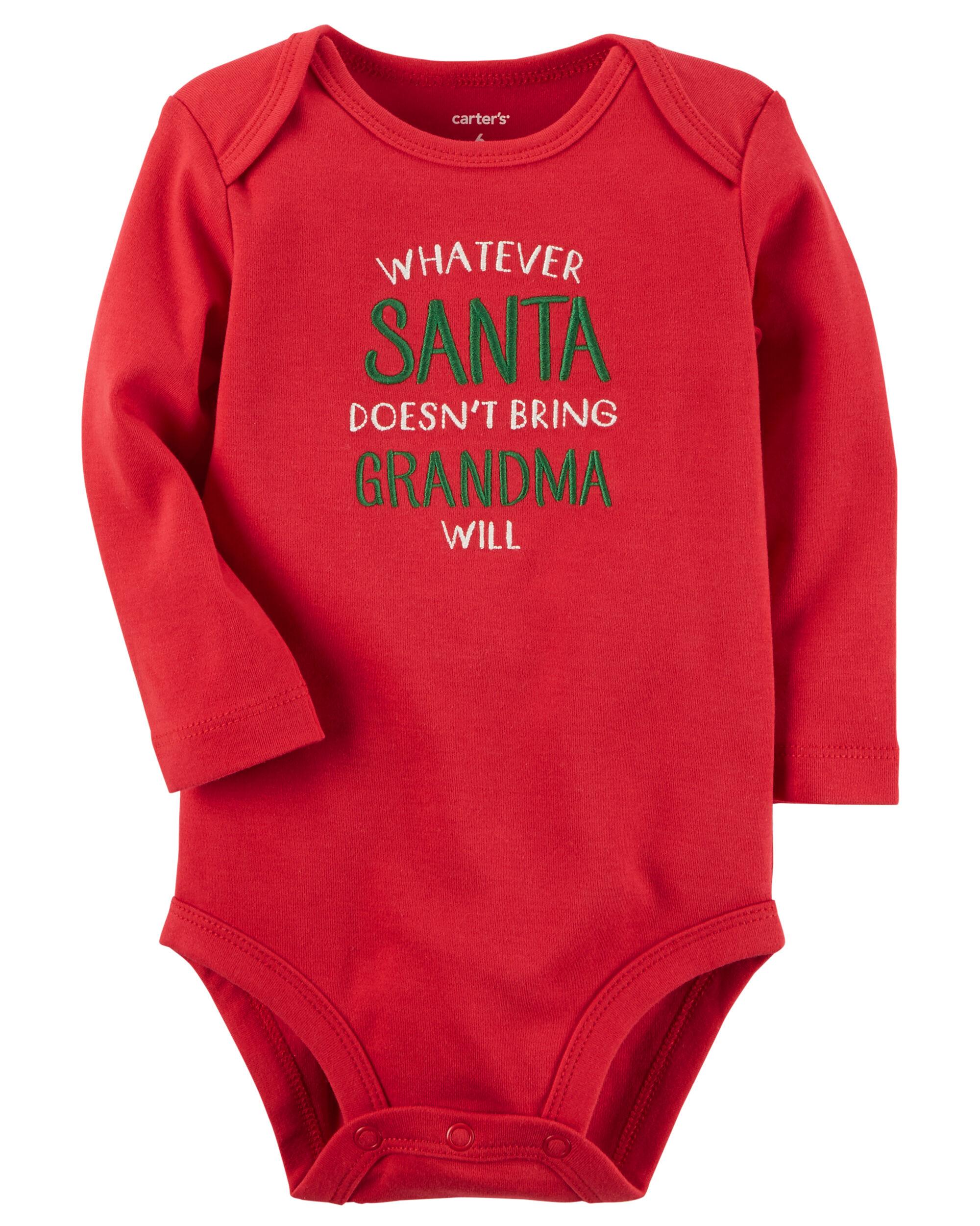 Santa and Grandma Collectible Bodysuit