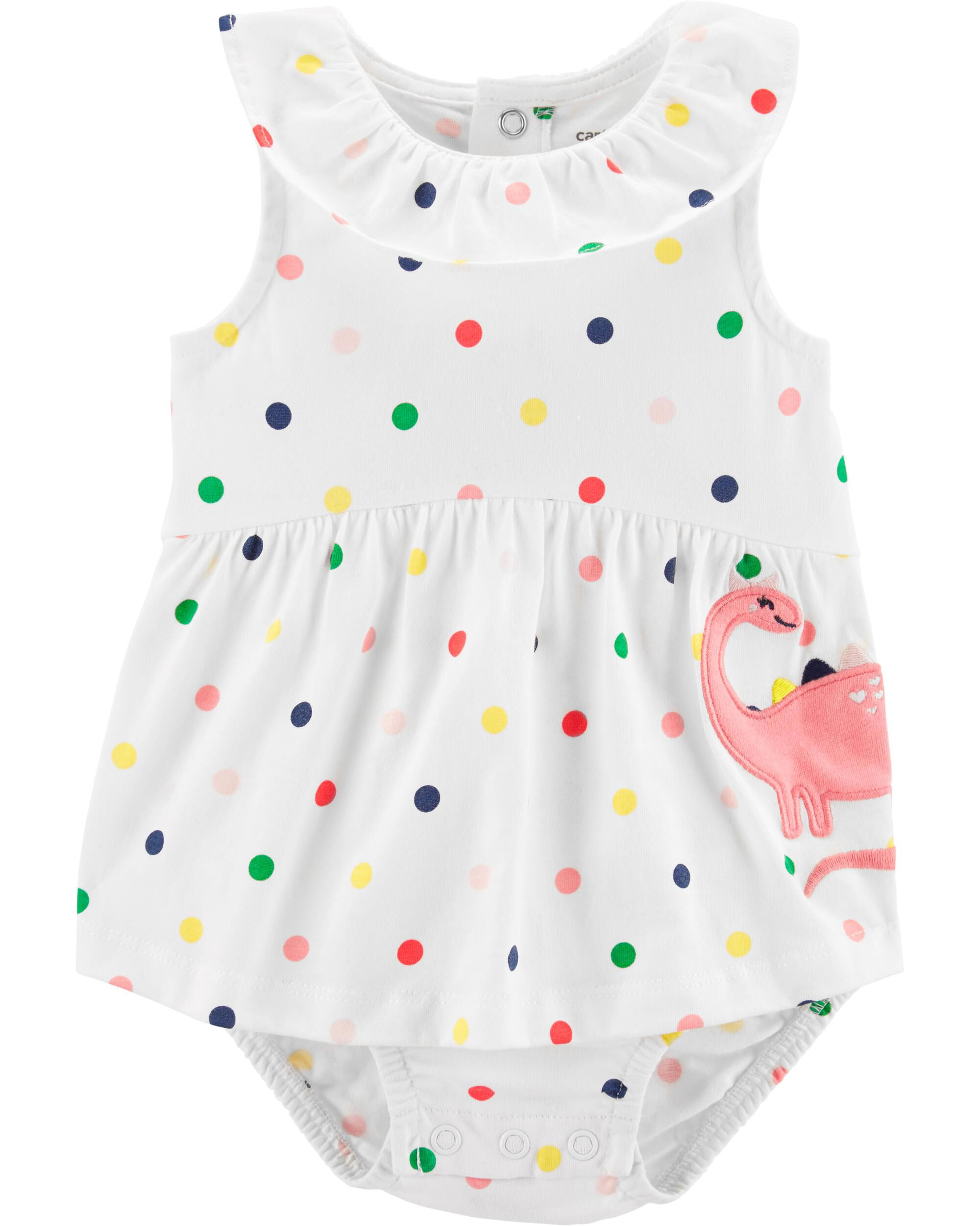 Girls' Clothing (0-24 Months) Dresses Next Baby Girl Summer Dress With Matching Sun Hat Size:0-3months Selected Material