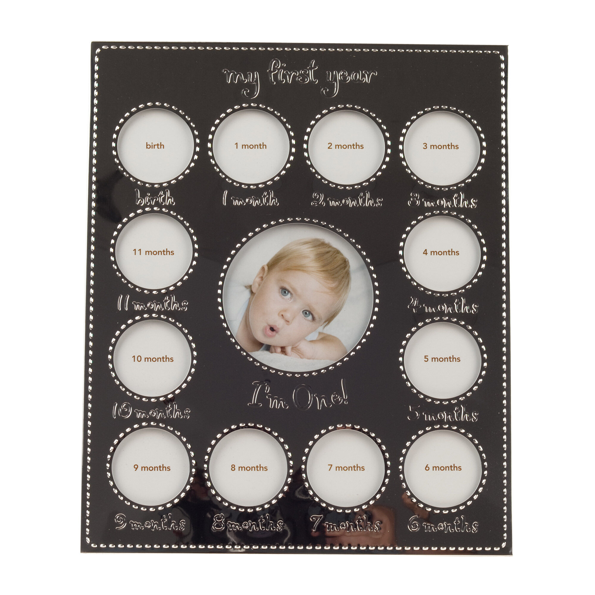 Baby\'s First Year Silver Frame | Carters.com