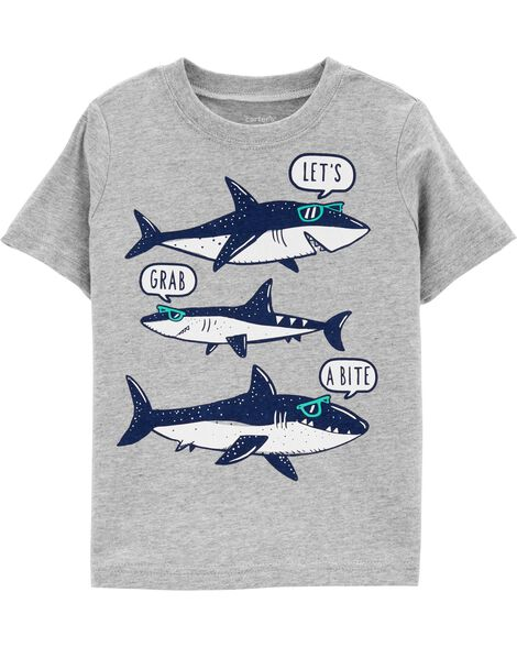 951915dad *DOORBUSTER* Shark Jersey Tee