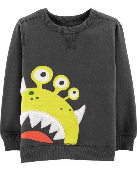 Alien Fleece Sweatshirt