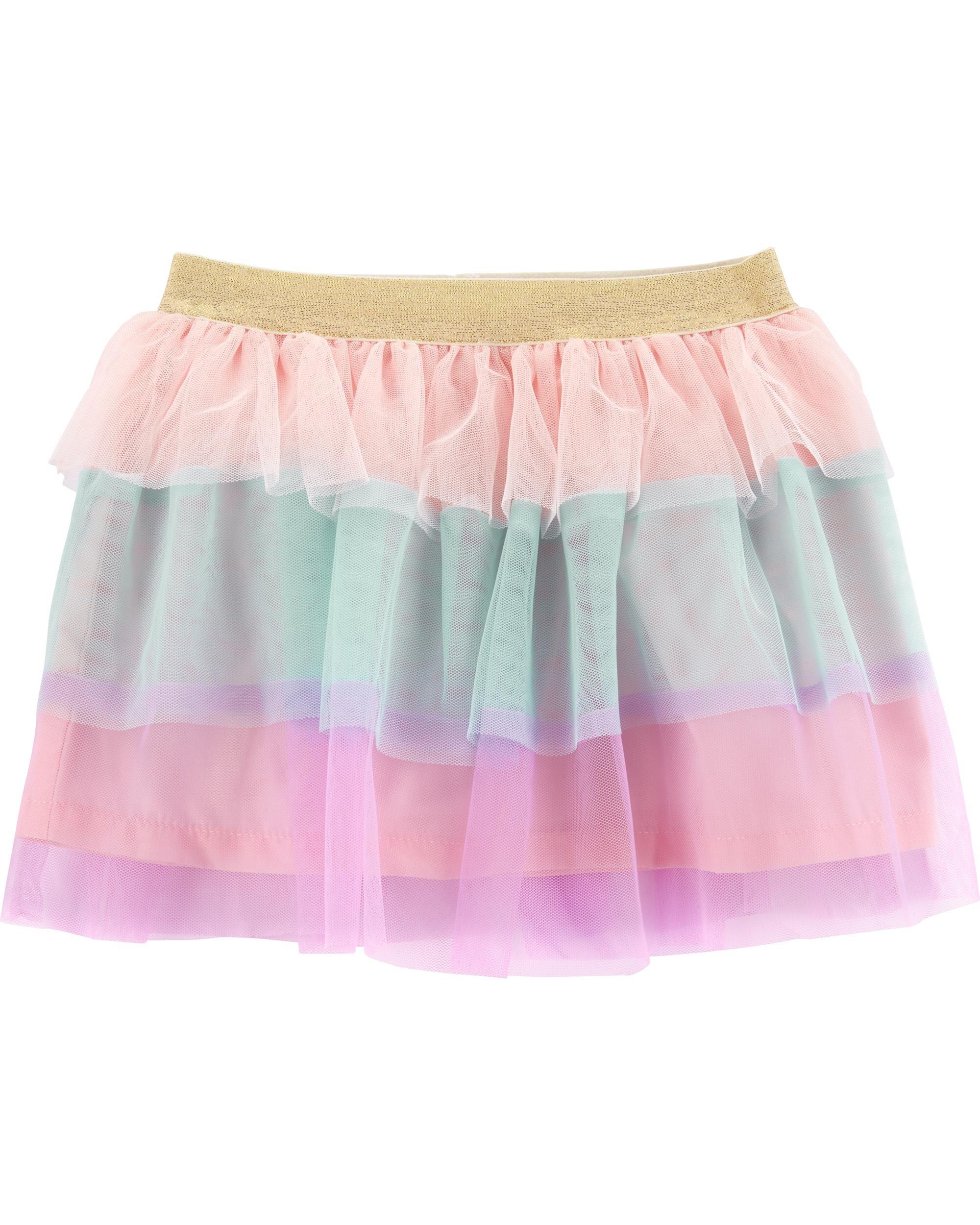 1984c0c6e Rainbow Tulle Skirt | Carters.com