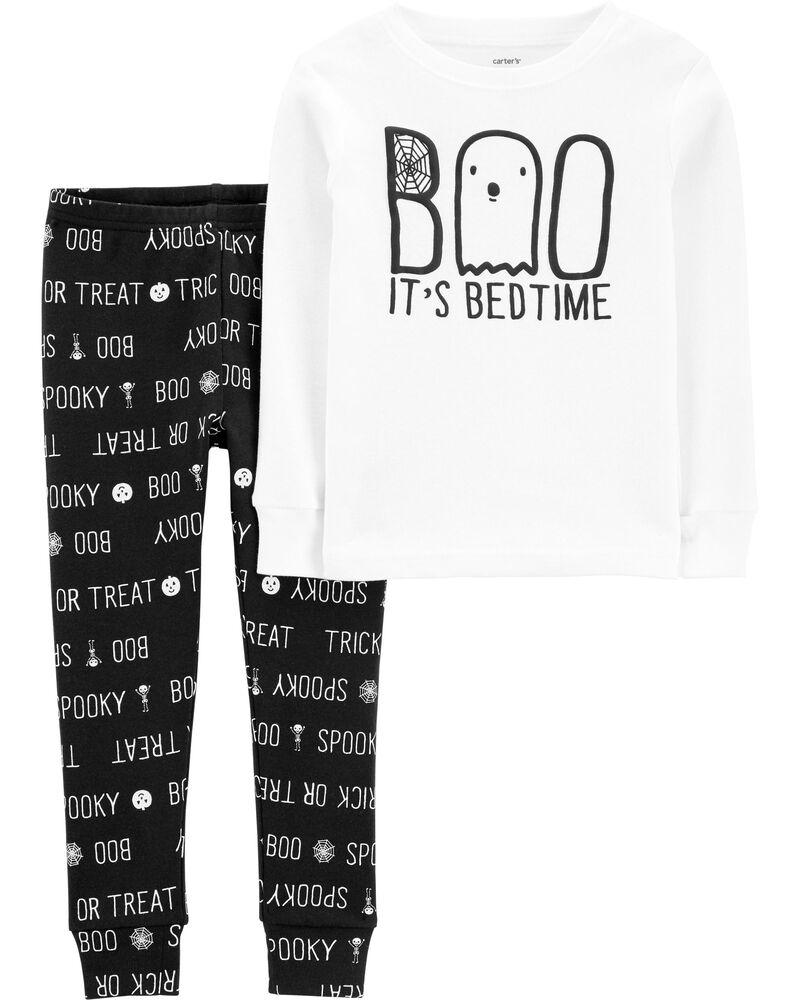 carters 2-Piece Boo Halloween Snug Fit Cotton PJs
