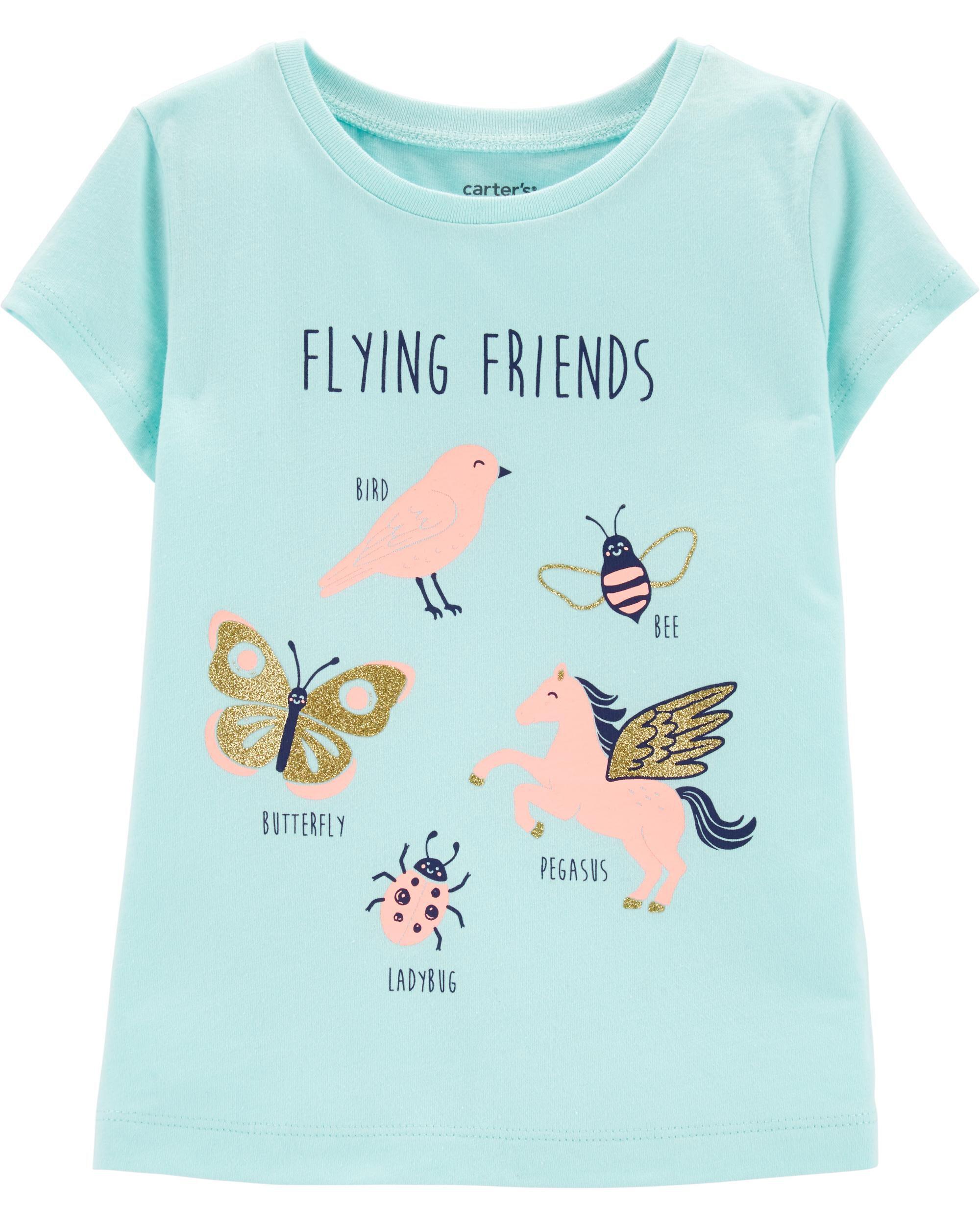 Happy Halloween Sparkly Owl Girls Long Sleeve Shirt 12 Or 24 Months Nwt Girls' Clothing (newborn-5t)