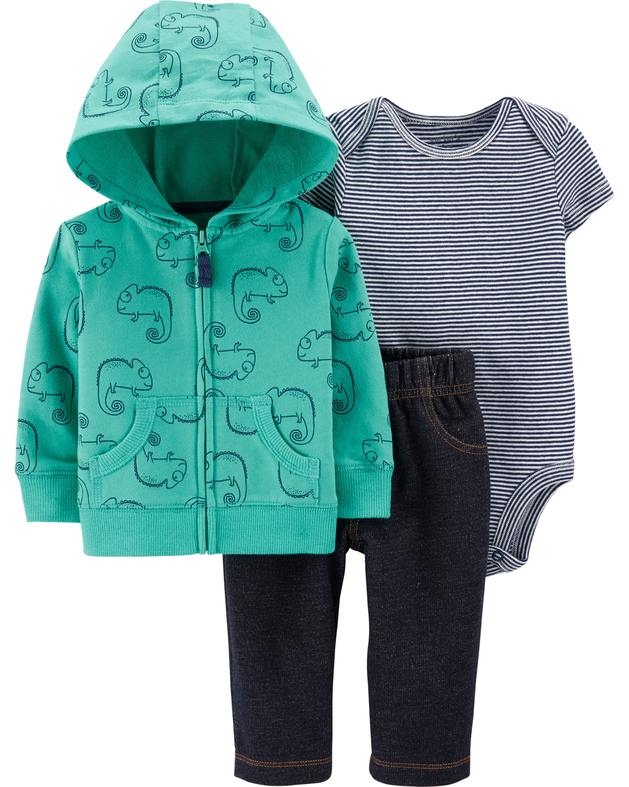 *DOORBUSTER* 3-Piece Chameleon Little Jacket Set