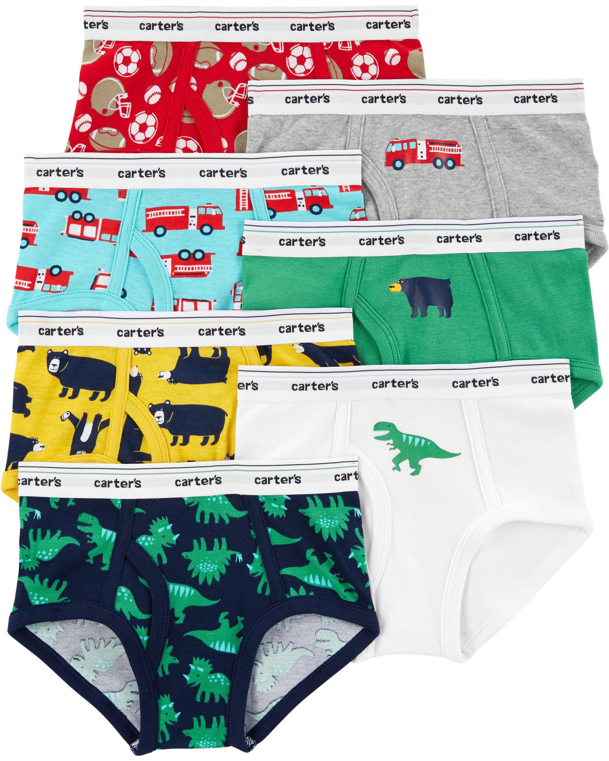 New Crazy 8 Underwear Boxer Briefs NWT 2T 3T 4 5 6 7 8 10 12 Blue Orange Stripes