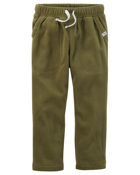 Drawstring Fleece Pants