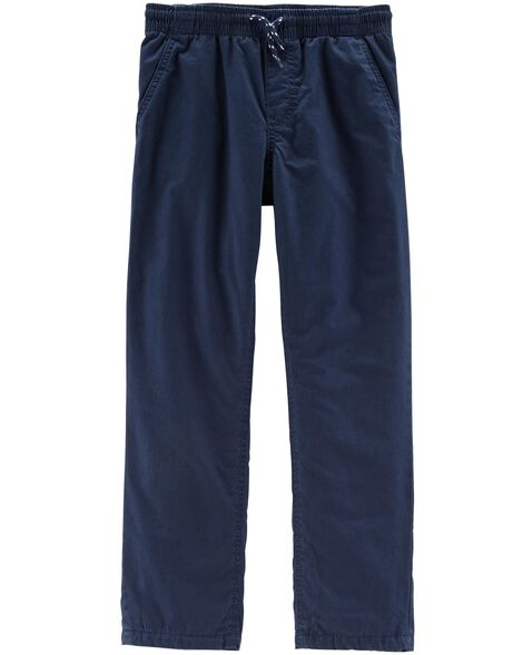 Lined Pull On Pants Carters Com