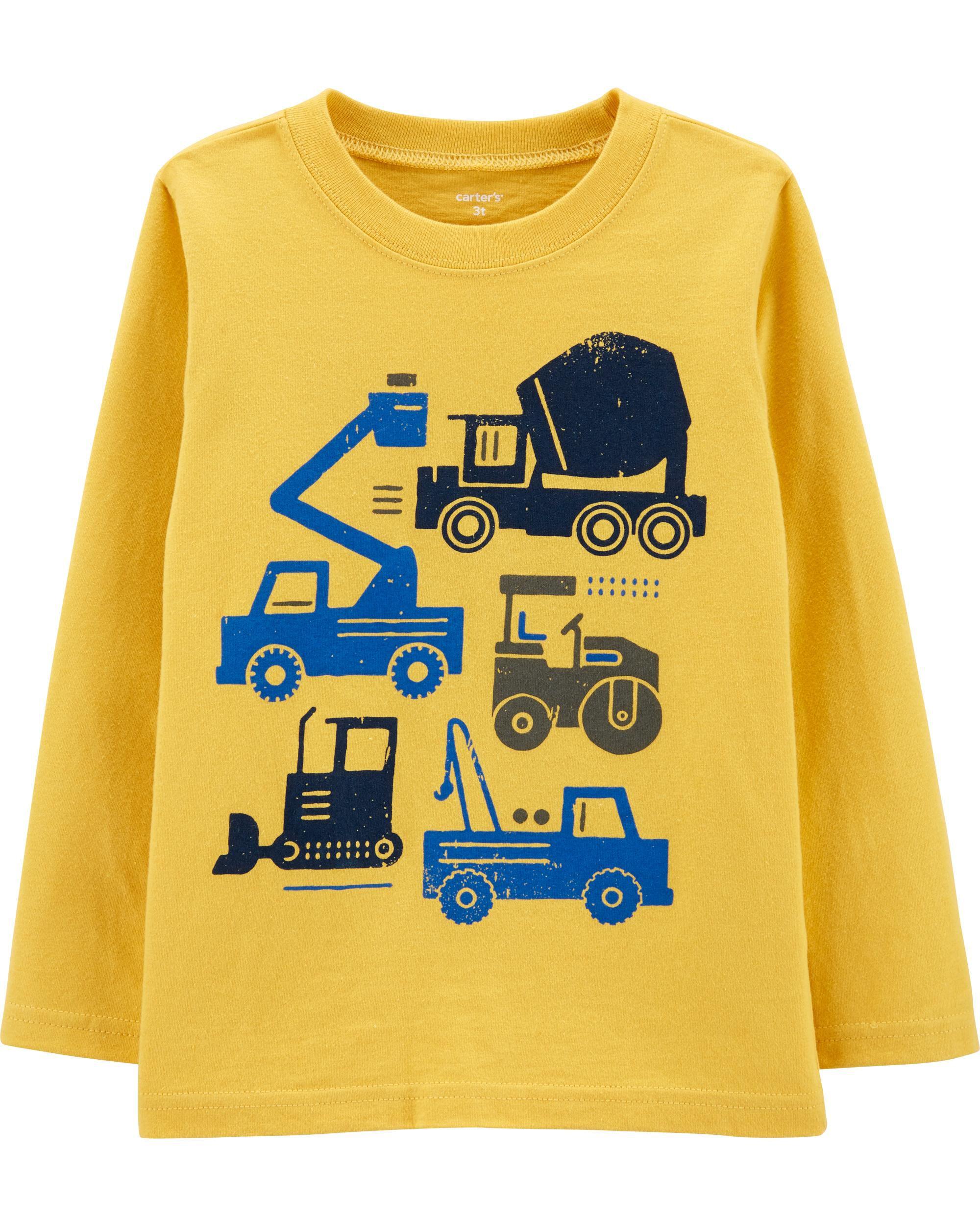 *DOORBUSTER*Construction Truck Jersey Tee