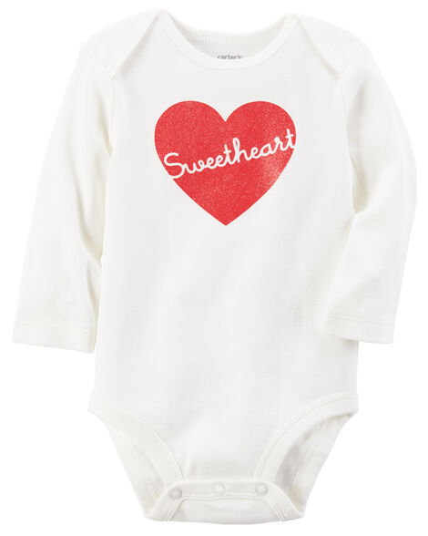 13842a27f Valentine s Day Sweetheart Collectible Bodysuit