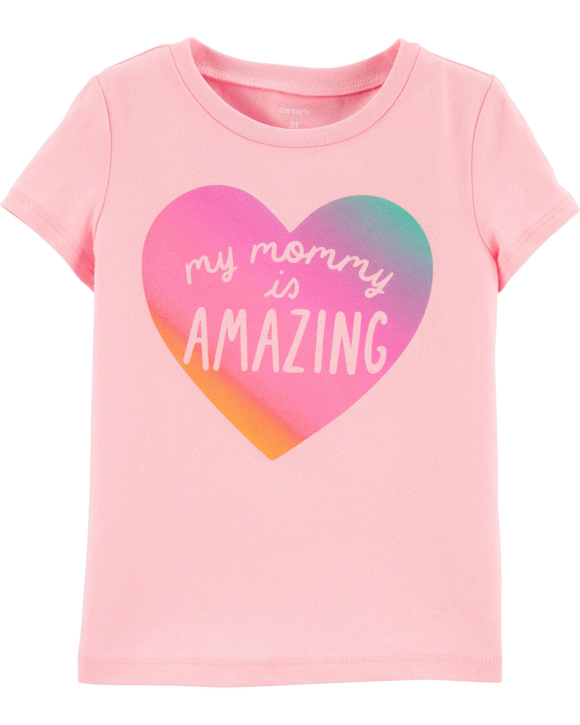 *DOORBUSTER* My Mommy Is Amazing Jersey Tee