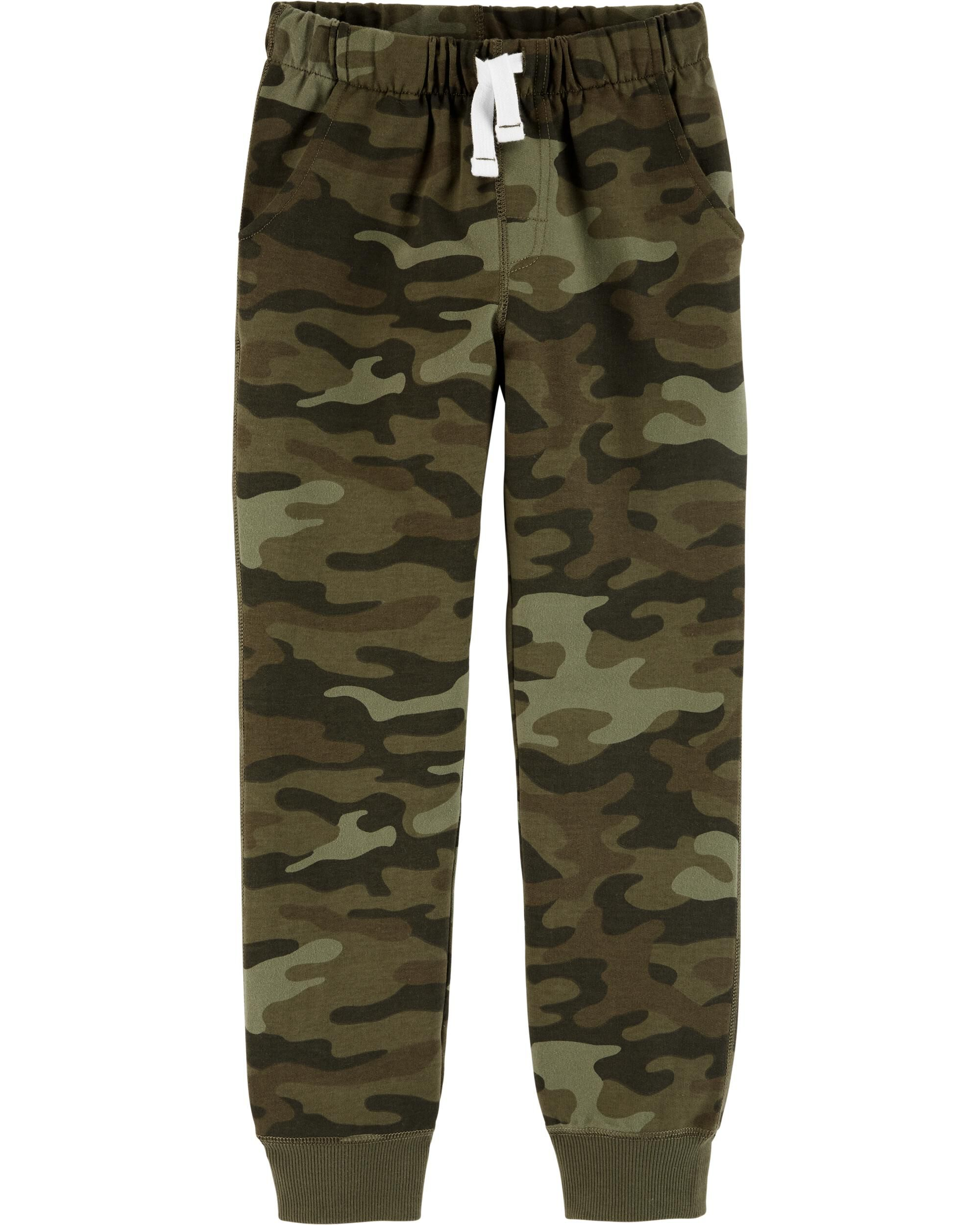 *DOORBUSTER* Camo Pull-On French Terry Joggers