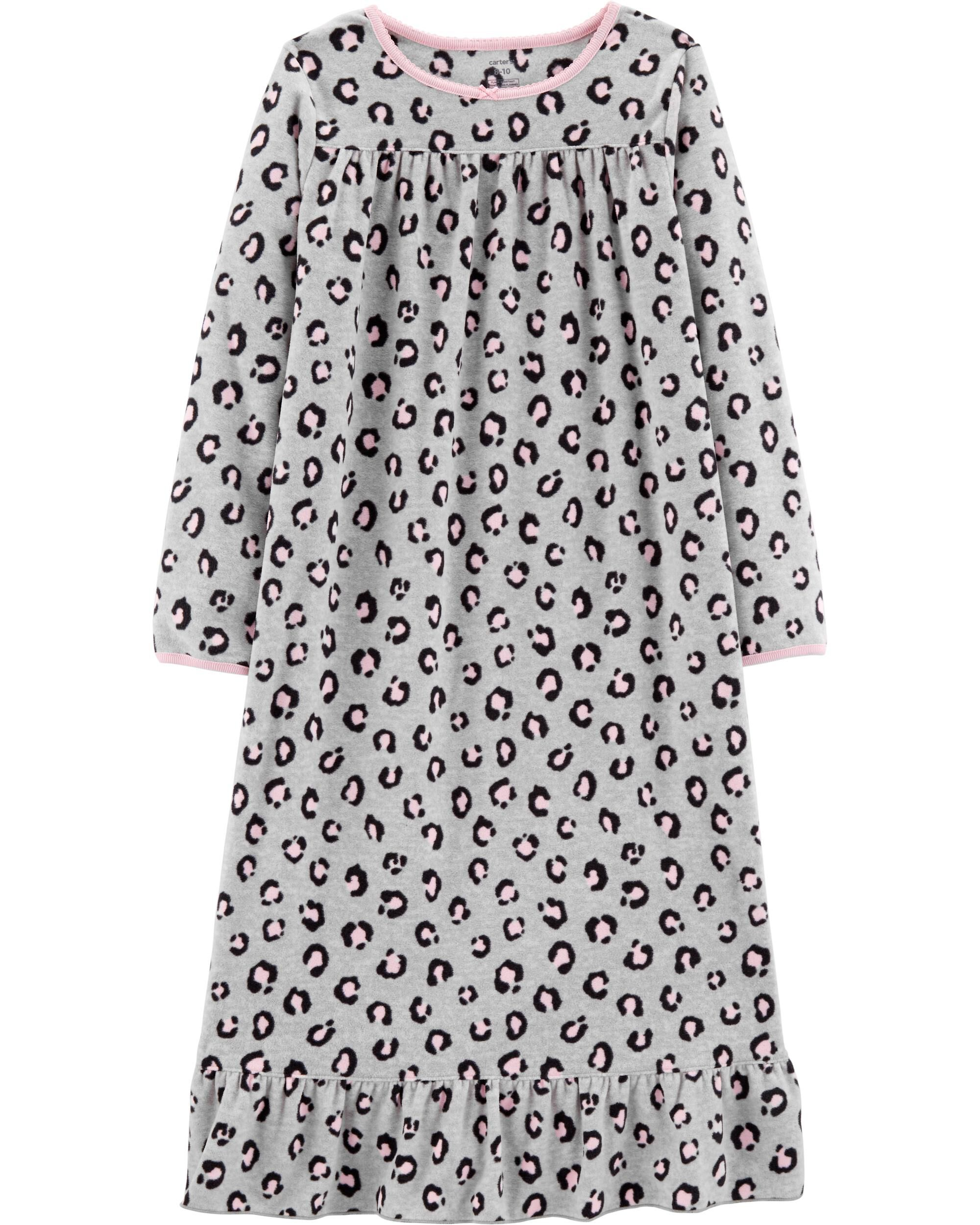 Cheetah Fleece Sleep Gown | Carters.com