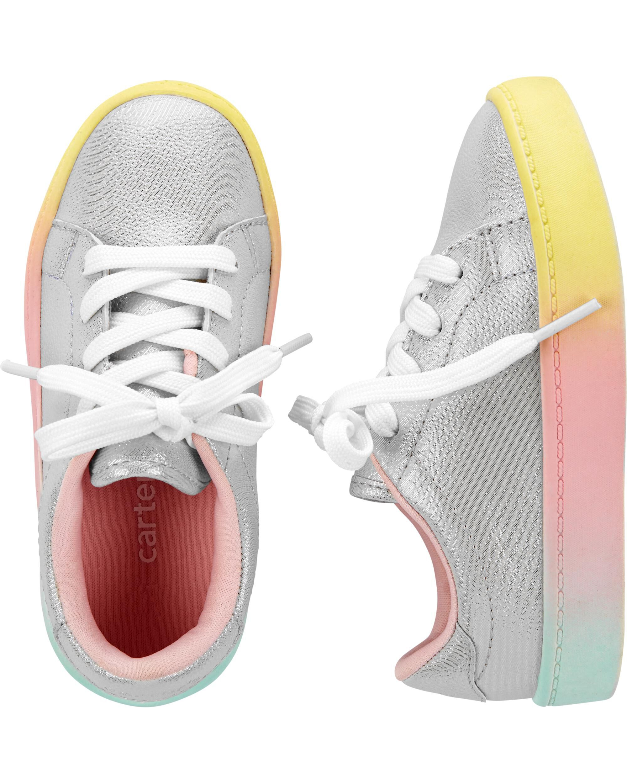 Carter's Rainbow Platform Casual Sneakers