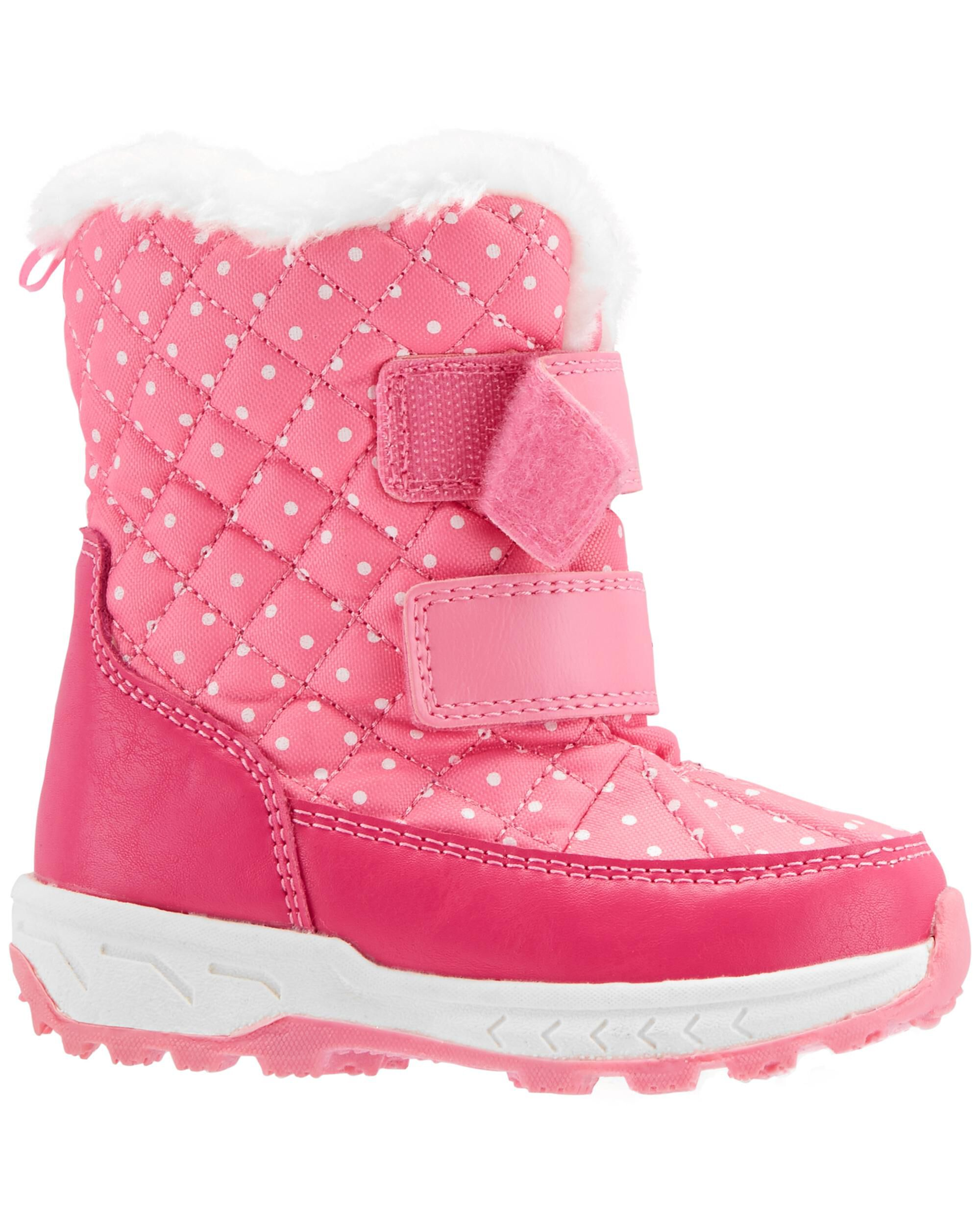 Carter's Polka Dot Snow Boots   carters.com