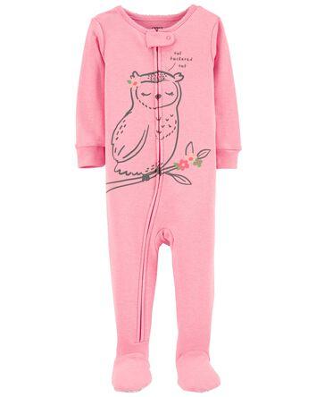 1-Piece Owl 100% Snug Fit Cotton Fo...