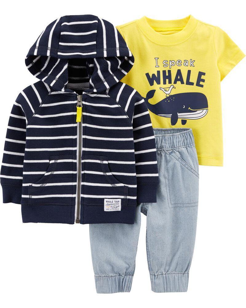 Leggings Basic Shirt Baby Fashion Size 68 Baby Kids Set Girls Whales